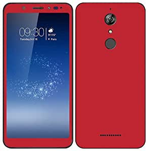 official photos 2747a 3920e GADGETS WRAP Micromax Infinity Canvas Infinity Red Glossy Skin for Front &  Back. D4A17