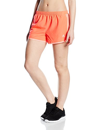 Beinkleid adidas marathon 10 short pour femme, Orange - Coral, 42
