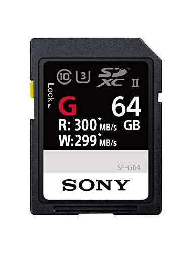 Sony SF-G64 SDXC Class 10 UHS-II U3 Speicherkarte