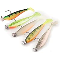 3 Fox Rage Zander Pro Shads Loaded 10cm 3/0 10g fertig montierte Gummifische