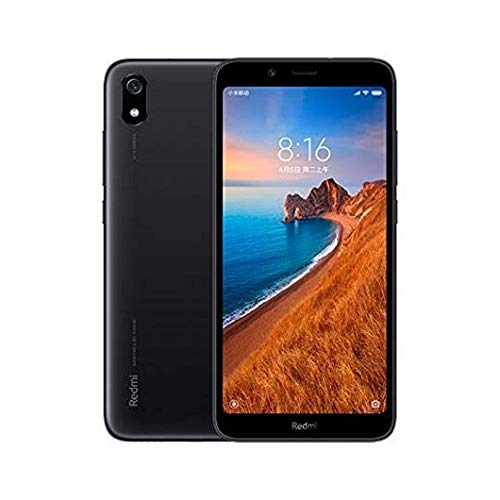 "Xiaomi Redmi 7A 32GB Dual-SIM Negro EU [13,8cm (5,45"") LCD Display, Android 9.0, 12MP Hauptkamera]"
