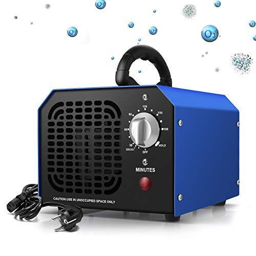 Generador de ozono, 6000 mg/h de olor de purificador de ozono