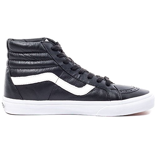 Vans U Sk8-hi Reissue Leather, Unisex-Erwachsene Sneakers Black (premium Leather/black)