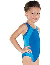 Shepa Kinder Badeanzug Schwimmanzug pink grau