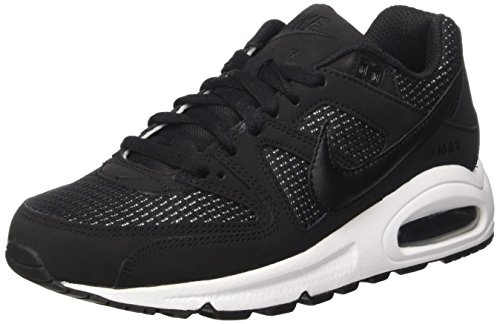 Nike Damen Women's Air Max Command Shoe Laufschuhe, Mehrfarbig Black-White, 40 EU