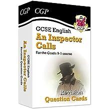 New Grade 9-1 GCSE English - An Inspector Calls Revision Question Cards (CGP GCSE English 9-1 Revision)