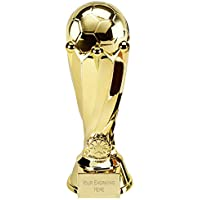Womack Graphics 6.25 inch (16cm) Tower Football Gold Resin Trophy Award with Free Engraving upto 50 letters TF001A.01