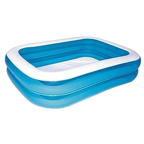 Bestway Family Pool Blue Rectangular, 201x150x51 cm