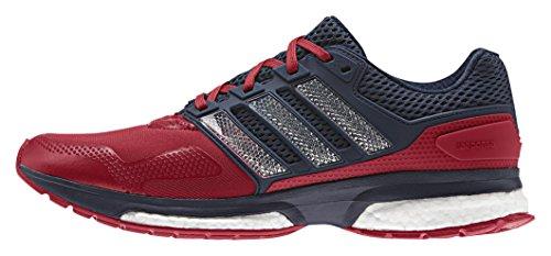 adidas Response 2 Techfit M, Zapatillas de Running para Hombre, Rojo /