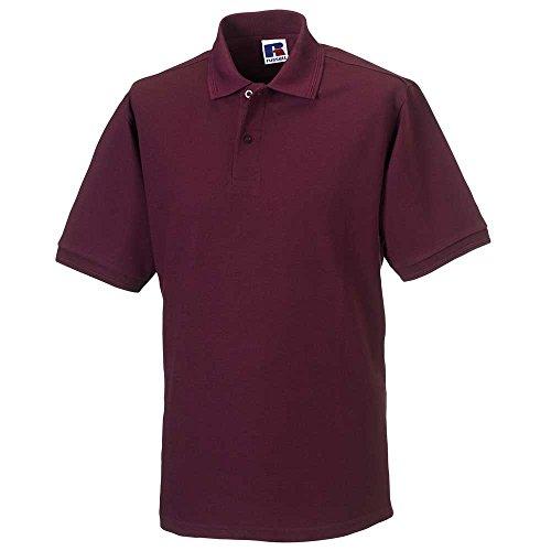 Russell CollectionHerren Poloshirt #N/A Rot - Burgunderrot