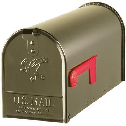 DecoAmbiente U.S. Mailbox–ELITE–in acciaio–Bronzo–misura T1