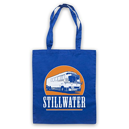 Inspiriert durch Almost Famous Stillwater Inoffiziell Umhangetaschen Blau