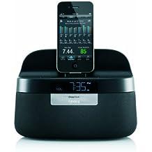 GEAR4renovar sleepclock sin contacto/Sleep Monitoreo/alarma/reloj/radio/altavoz base dock para iPod/iPhone/iPad