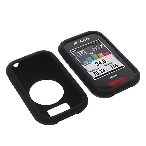 Funda para Polar V650 protectora silicona carcasa protección negra