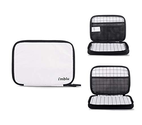 Wasserdichte Kabel-Organizer-Tasche, Make-up, Reisezubehör, Aufbewahrungstasche für Handy/HardDisk/Powerbank/Cord/Maus, doppelschichtig