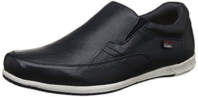 BATA Men's Adam Slipon Blue Leather Loafers-10 UK/India (44 EU) (8549234