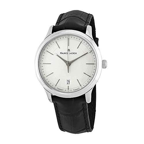Maurice Lacroix Les Classiques Silver Dial Men's Watch LC1117-SS001-130-BK
