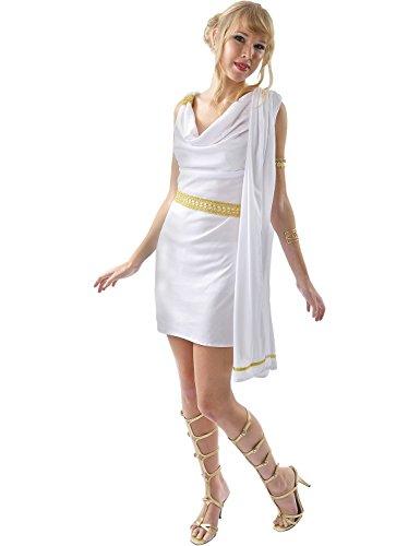 Womens Roman Toga - Small (Toga Kleid Kostüme)