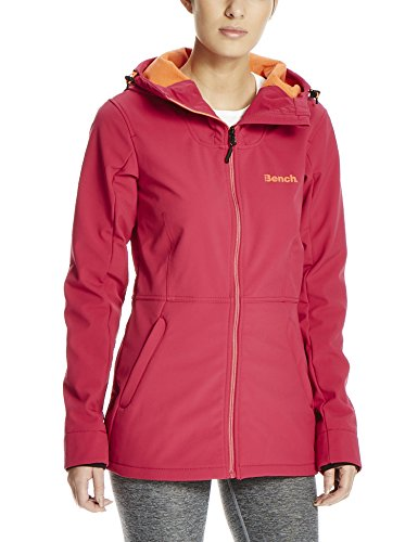 Bench Damen STUCKUP Softshelljacke, Dark Pink, M