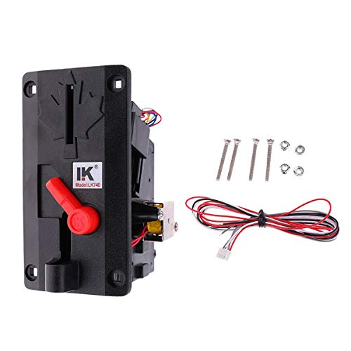 Anti-shock Coin Acceptor Selector Slot Set for Arcade Game Vending Machine NEW