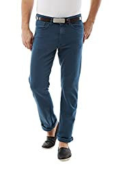 Allen Solly Mens Drop Crotch Jeans (8907308891908_ALDN515J05738_36W x 34L_Dark Blue Solid)