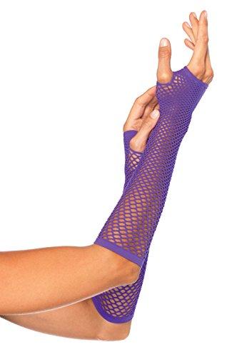 Leg Avenue 2024 - Fingerlose Handschuhe, neon lila