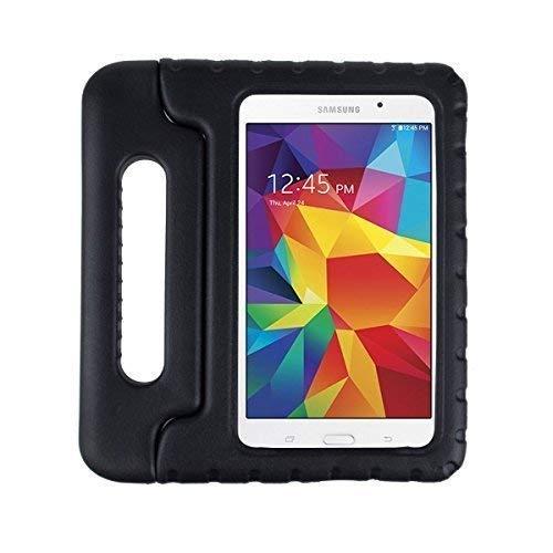 """icom32 Schutzhülle für Samsung Galaxy Tablet A6 Kinder Kinder Schutzhülle Hülle Ständer - Schwarz, Tab A6 - 7"""""""