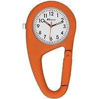 Ravel - orologio al quarzo caribiner con clip da cintura