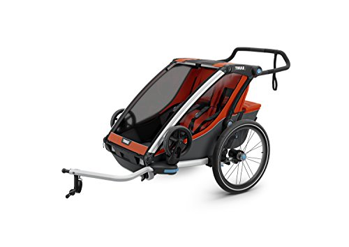 Thule Baby 2 Chariot Cross 2, Rot, One Size - 5