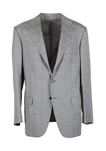 cl-brioni-parlamento-gray-checked-suit-size-50-40r-us-wool-silk