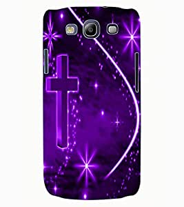 ColourCraft Cross Design Back Case Cover for SAMSUNG GALAXY S3 I9300