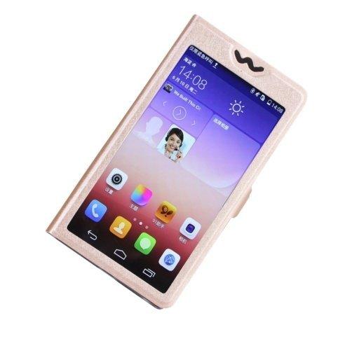 Apple iPhone 5se Case Hülle Fullscreen Design Schutzhülle (Schwarz) - 1 x Gratis klarer Bildschirmschutz Gold