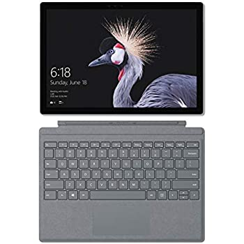 Microsoft Surface Pro - Ordenador portátil 2 en 1, 12.3 (Intel Core i5-7300U, 8GB RAM, 128GB SSD, Intel Graphics, Windows 10 Pro) Plata - Teclado ...