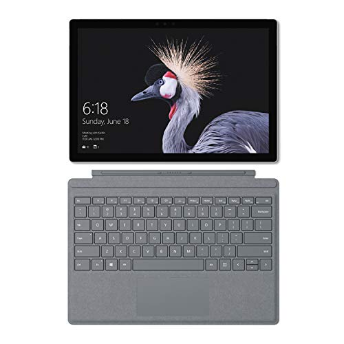Microsoft Surface Pro - Ordenador portátil 2 en 1, 12.3'' (Intel Core i5-7300U, 8GB RAM, 128GB SSD, Intel Graphics, Windows 10 Pro) Plata - Teclado QWERTY Español