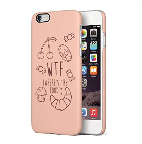 Middle Finger Emoji IDFWU I Don't Fuck With You Apple iPhone 6 / iPhone 6S SnapOn Hard Plastic Phone Protective Custodia Case Cover Wheres Food