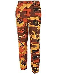 568acd8b47 Saoye Fashion Pantalon Militar Mujer Largas Elegantes Otoño Outdoor Pantalon  Deporte Casuales Pantalon Cargo Niñas Ropa