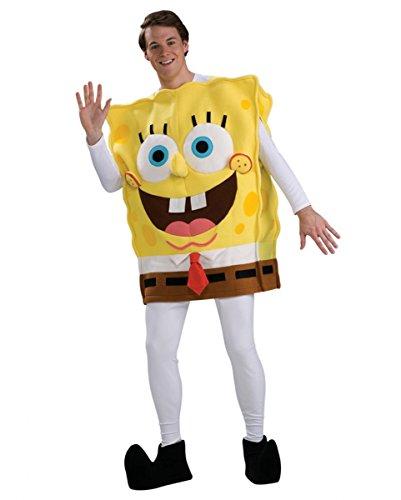 Spongebob Deluxe Kostüm für Fasching & Karneval Standard