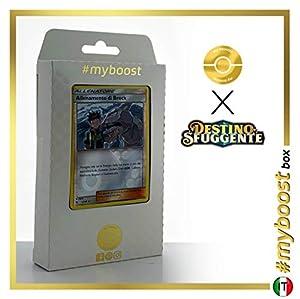 Allenemento di Brock (Entrenamiento de Brock) 55/68 Holo Reverse - #myboost X Sole E Luna 11.5 Destino Sfuggente - Box de 10 cartas Pokémon Italiano