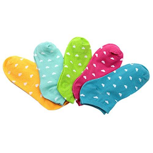 5-Pairs-Cute-Heart-Print-Womens-Girls-Cotton-Blend-Low-Cut-Ankle-Socks-Random-Colours