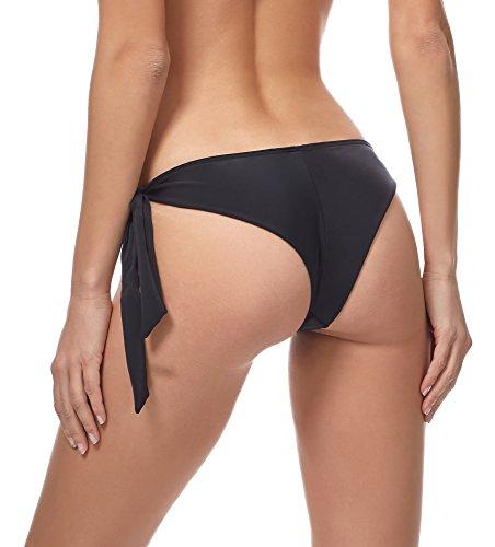 Merry Style Bikini Slip per Donna MSVR3 Nero