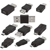 Queta USB-Adapter (USB 2.0-Serie, für Computer/Handy) 10 Stück
