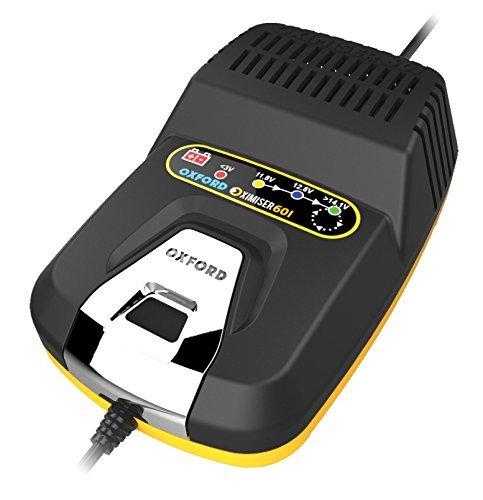 Oxford Oximiser 601Essential Batteria ottimizzatore Unisex, Nero/Giallo