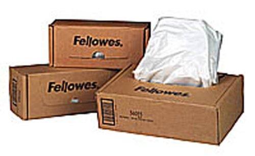 FELLOWES Boîte de 100 sacs de destructeurs 23 à 28 litres -...