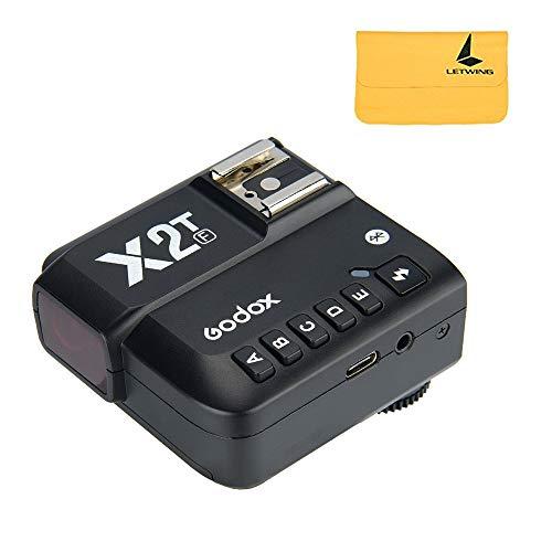 Godox X2T-F I-TTL Trigger Flash Wireless 1 / 8000s HSS, Funzione TCM, 5 Pulsanti di Gruppo Separati, per Fotocamera FUJI(X2T-F)
