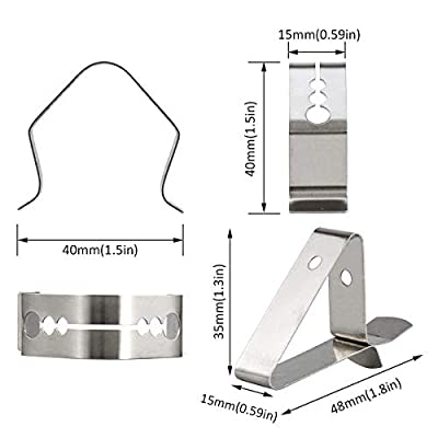 Universal A Style Grill Fleisch Thermometer Sonde Clips für Umgebungstemperatur Lesen Verbessertes Fleisch Thermometer Sonde Halter für Grill
