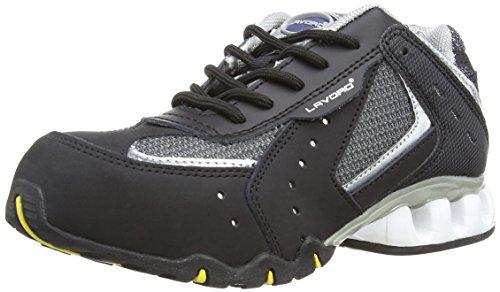Lavoro Silver, Chaussures de sécurité Mixte adulte Noir (Black/Silver)