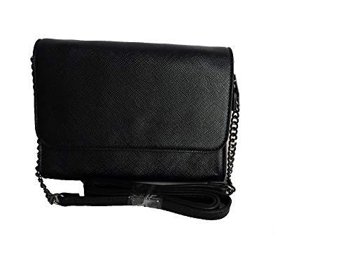 e74f70961282b TCM Tchibo Handtasche Umhängetasche Crossbag Schultertasche oder Clutch  schwarz