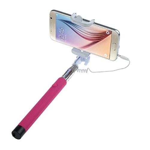 Bocideal(TM) 1pc Ausziehbare Handselbstporträt Stativ Monopod Stick für Handy iPhone 4 5 5s, Samsung S3 S4 - Samsung Mobilfunk-zubehör