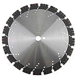 PRODIAMANT Profi Diamant-Trennscheibe Beton/Granit Oxx 350 mm x 25,4 mm Diamanttrennscheibe PDX82.118 350mm für Naturstein, Betonprodukte, mittelharte bis harte Materialien