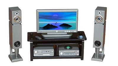 Conjunto TV-DVD 1:12 por Chaves